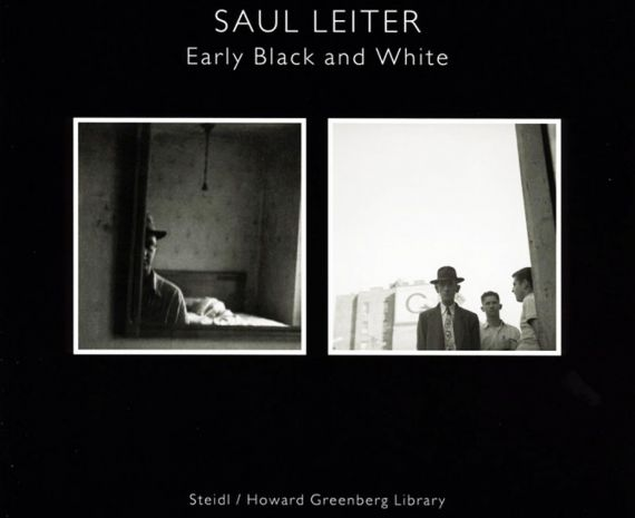 early B and W Saul Leiter cov