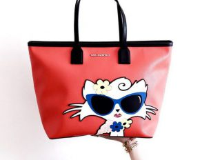 Choupette at the Beach