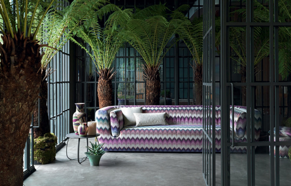 Missoni home at maison et objet missoni for Objets decoratifs maison