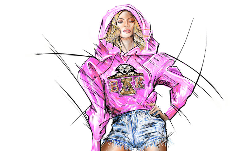 80729b0e The exclusive Balmain x Beyonce collection launches on NET-A-PORTER ...