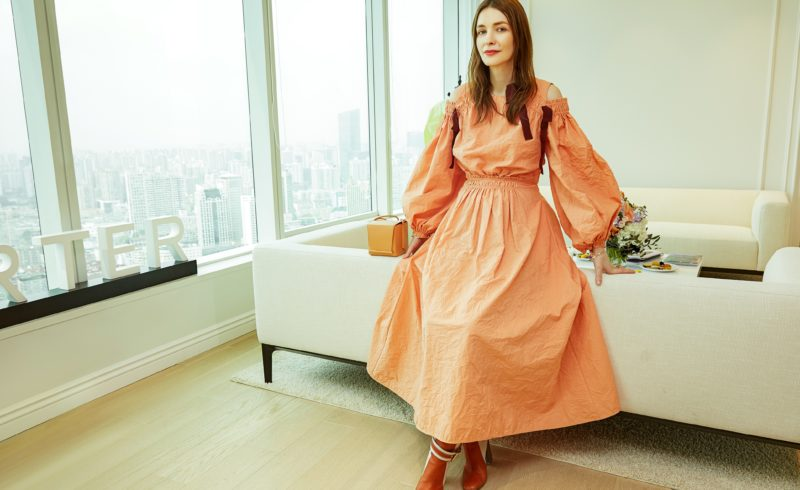 48ed02f525e85 Last week, YOOX NET-A-PORTER GROUP had the pleasure of hosting Afternoon  Tea at our Shanghai office, with the British Fashion Council, Roksanda  Ilincic and ...