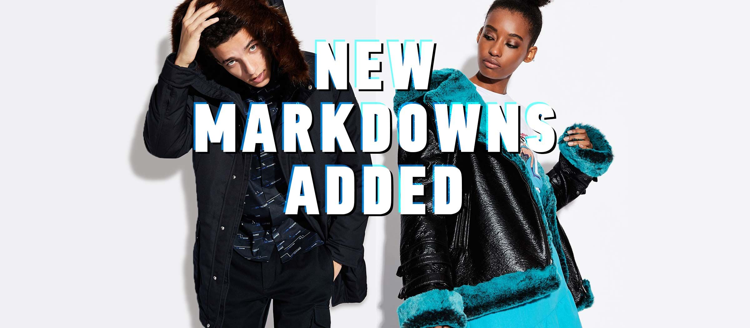 New Markdowns Added