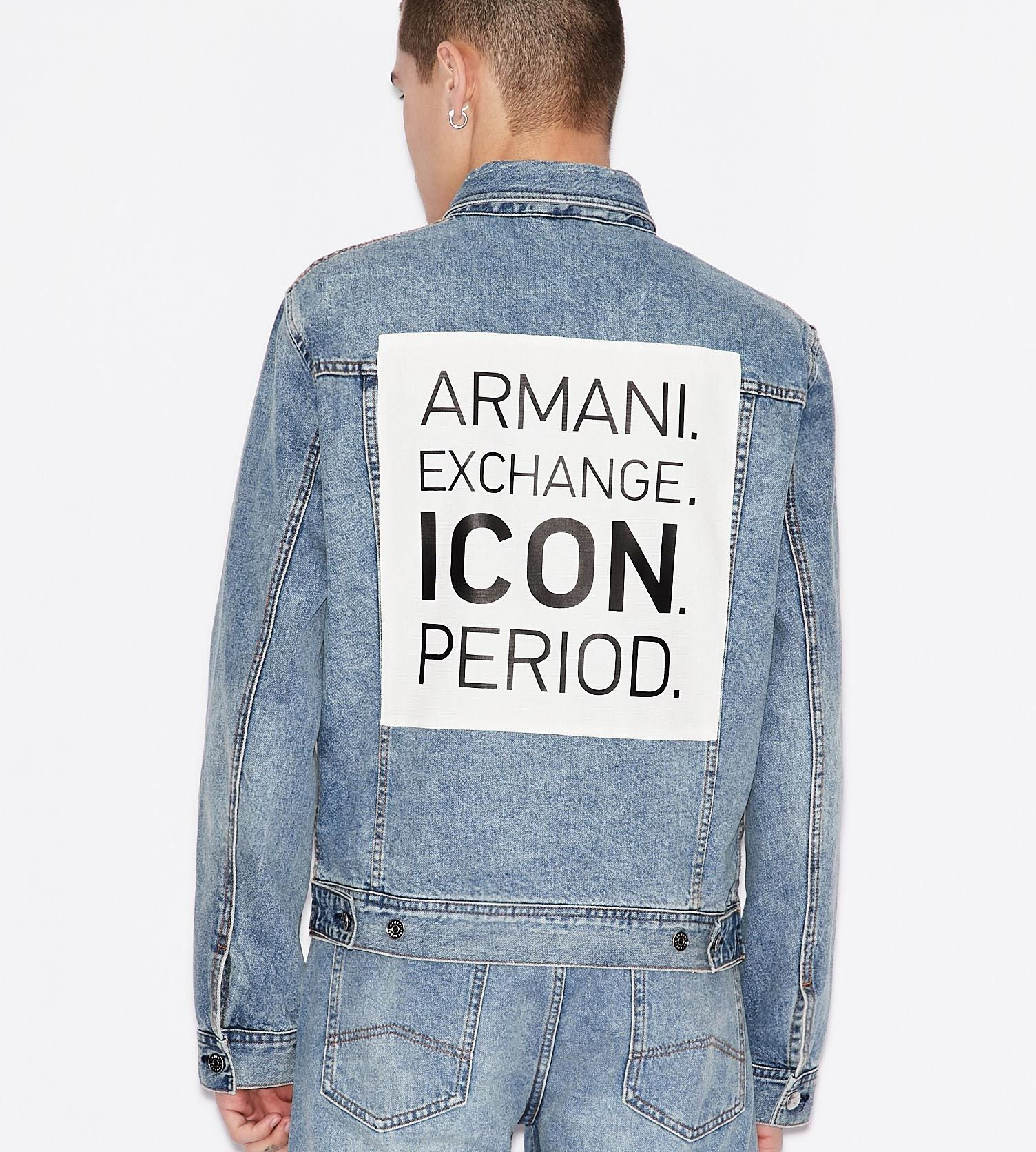 AX Icon denim blouson