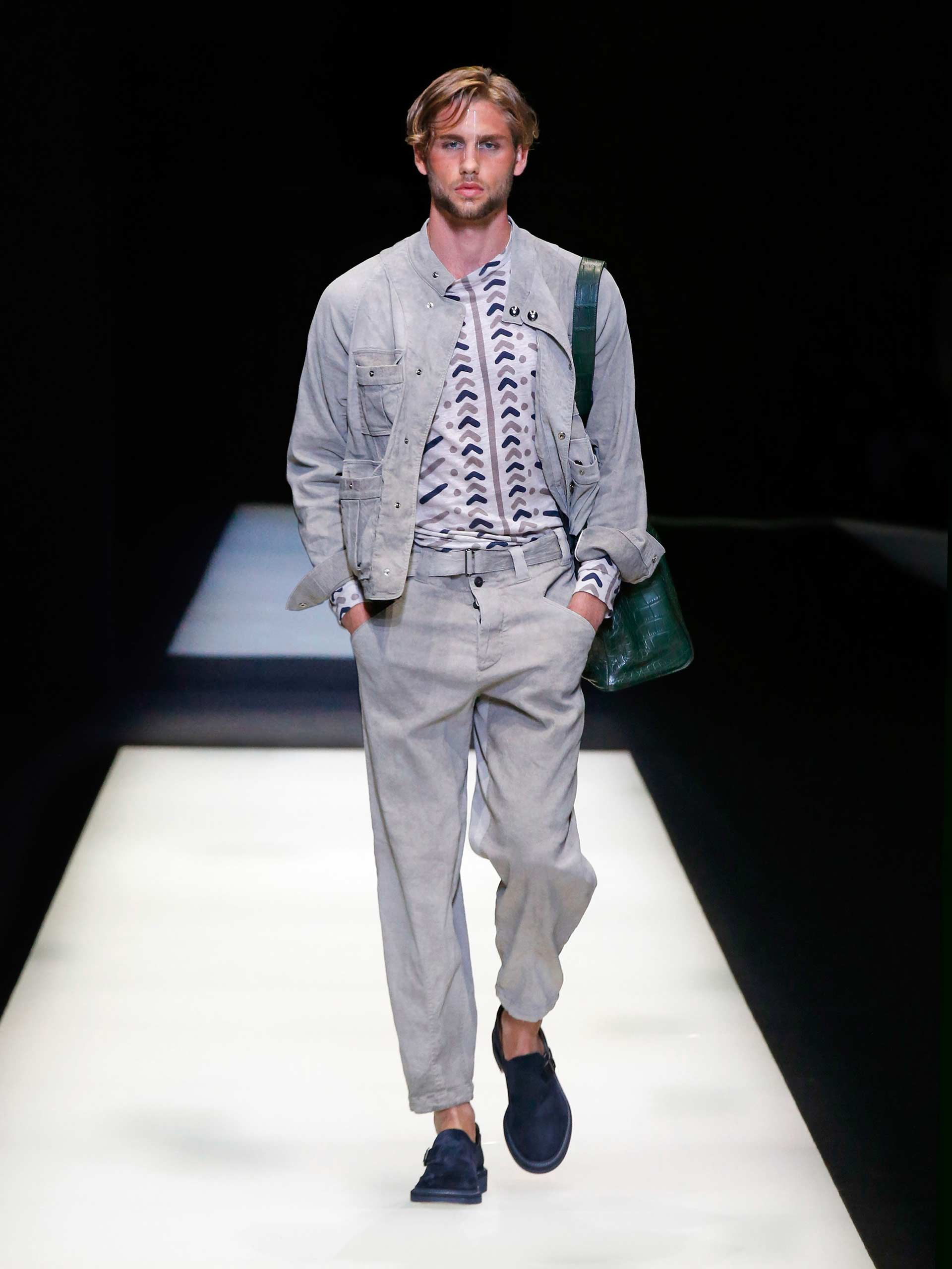 Giorgio armani men collection Got style fashion show