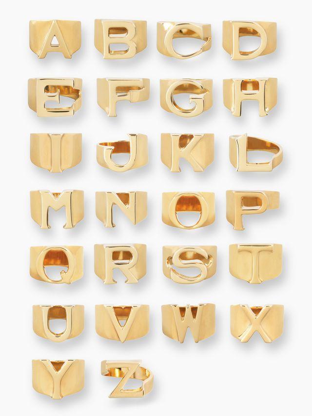 「Alphabet」リング