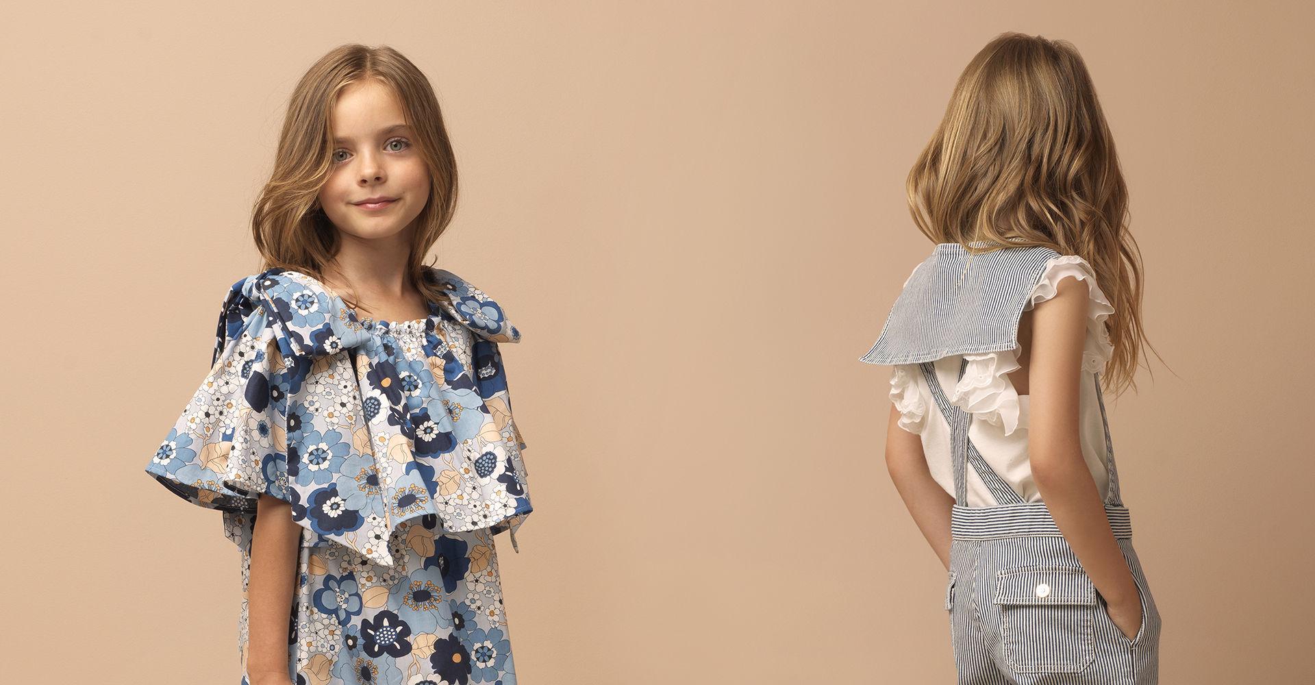 SR_Childrenswear_Breezy summer silhouettes for little #chloeGIRLS