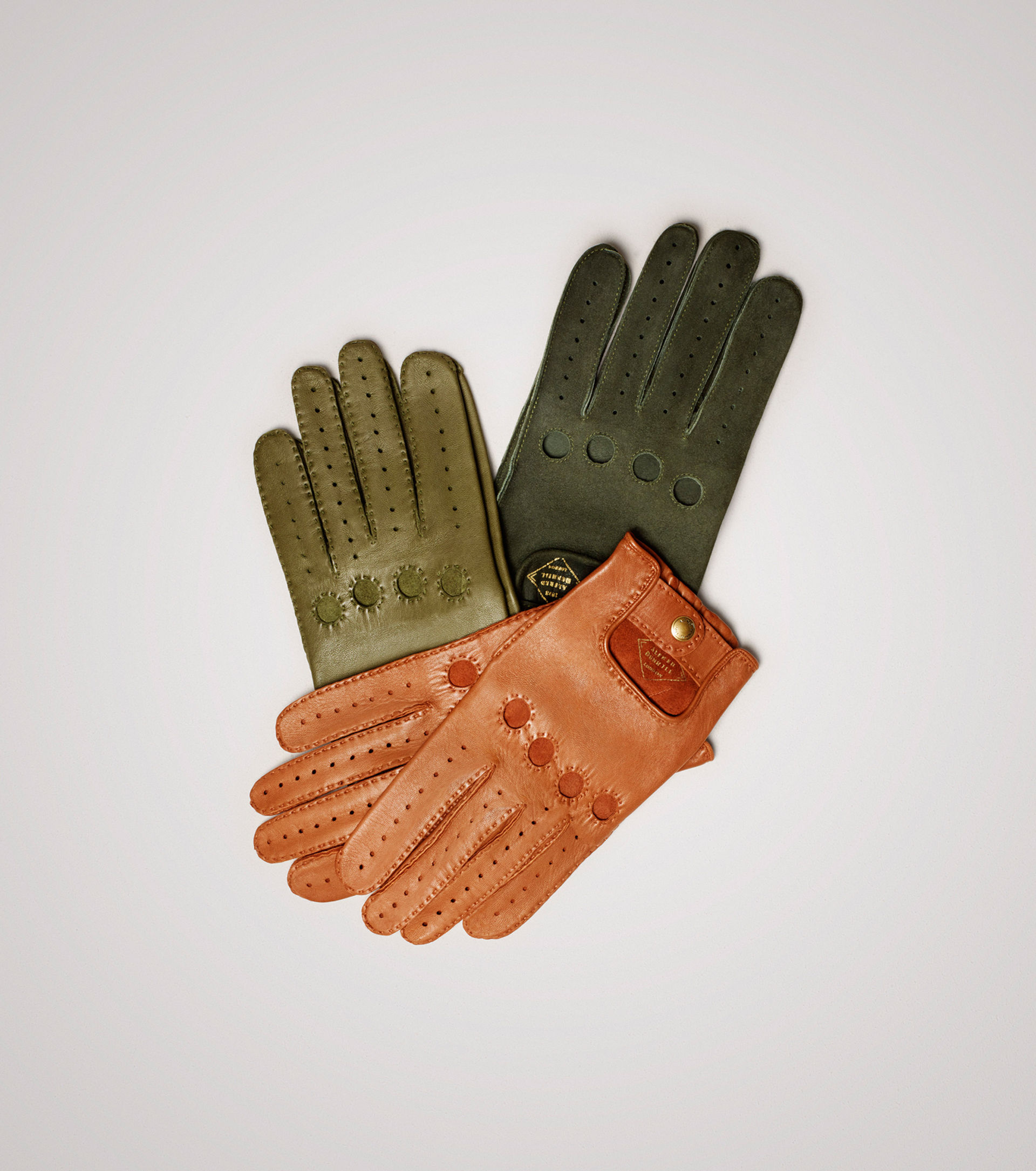 Leather driving gloves mercedes - Leather Driving Gloves