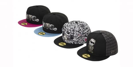 KARL LAGERFELD LIMITED EDITION TOKIDOKI CAPS