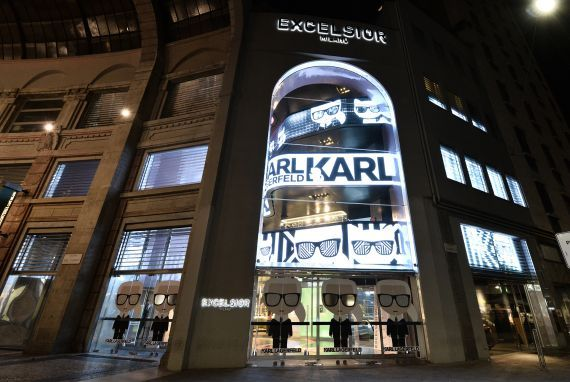 b2a73a87f781 KARL IKONIK POP-UP AT EXCELSIOR MILANO • World of Karl