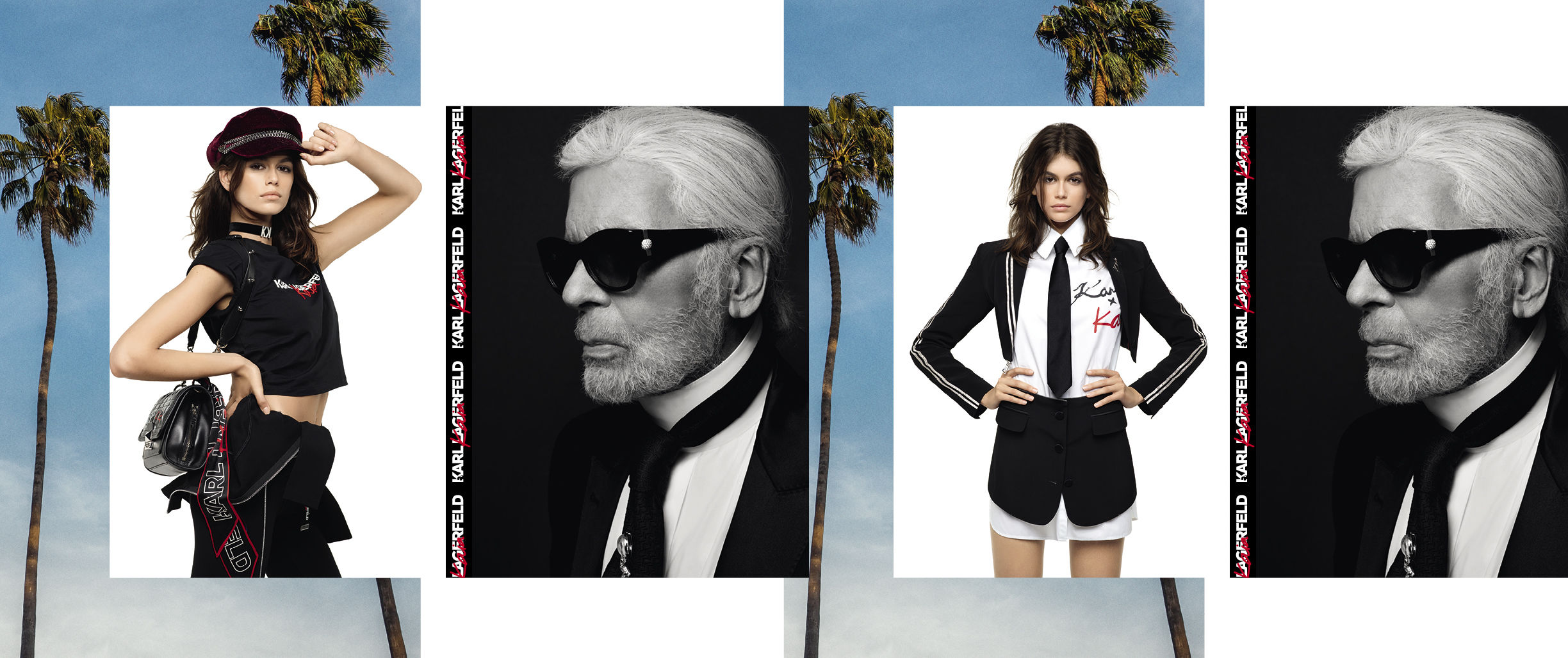 COMING SOON: KARL LAGERFELD X KAIA DISCOVER MORE