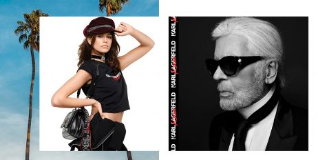 IT'S HERE: KARL LAGERFELD X KAIA