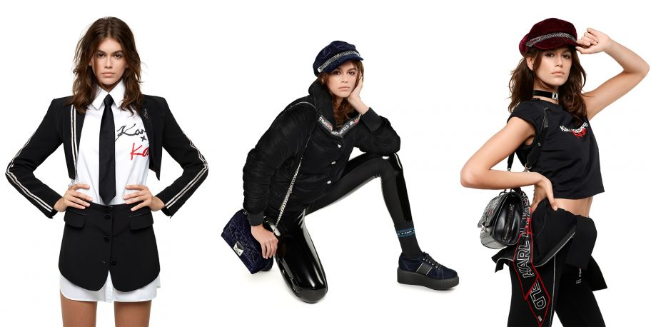 INTRODUCING KARL LAGERFED X KAIA