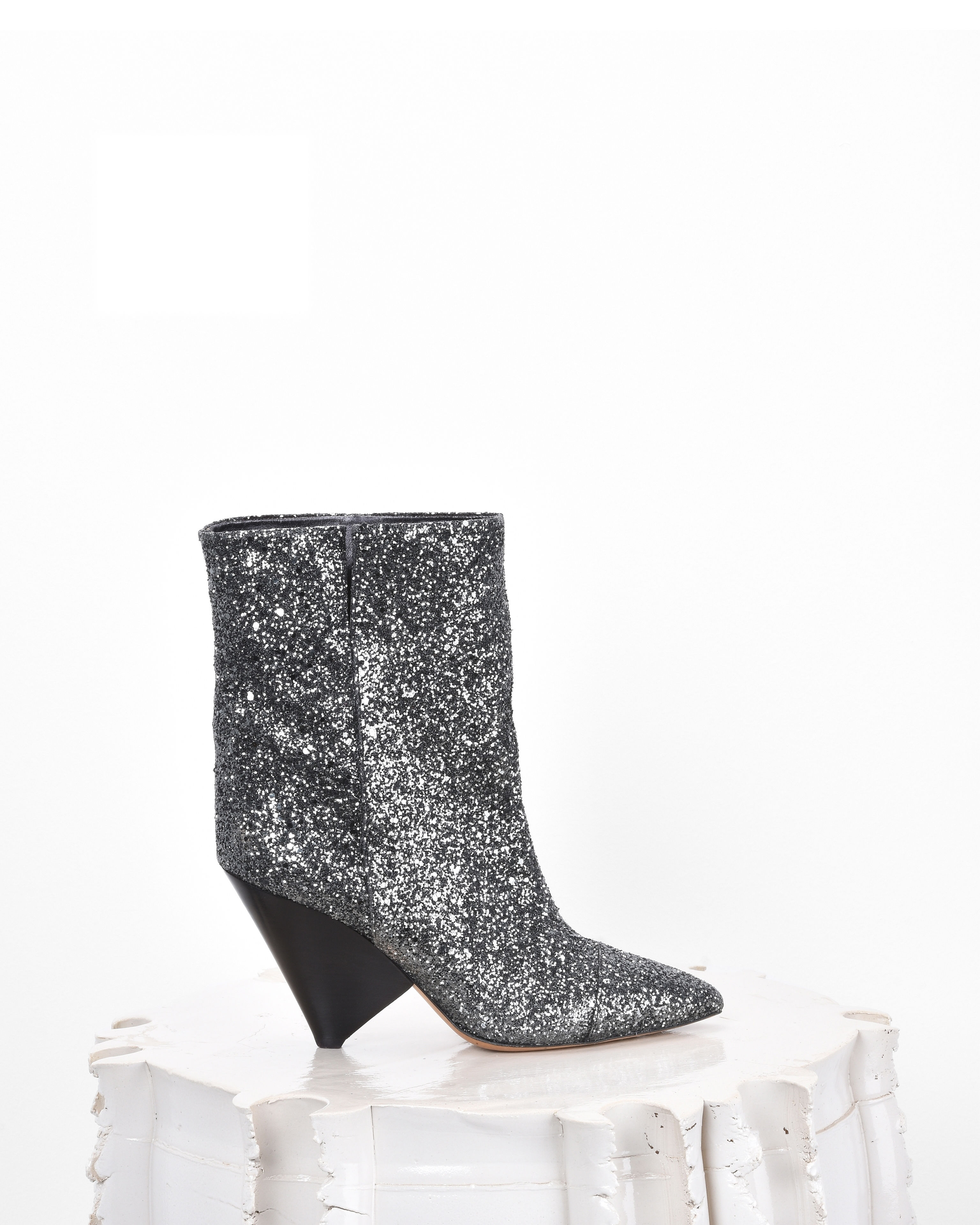 LULIANA glitter ankle boots