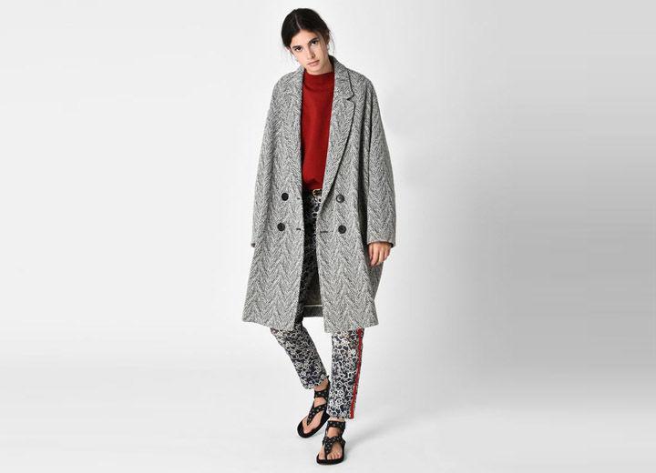 FIMO chevron coat