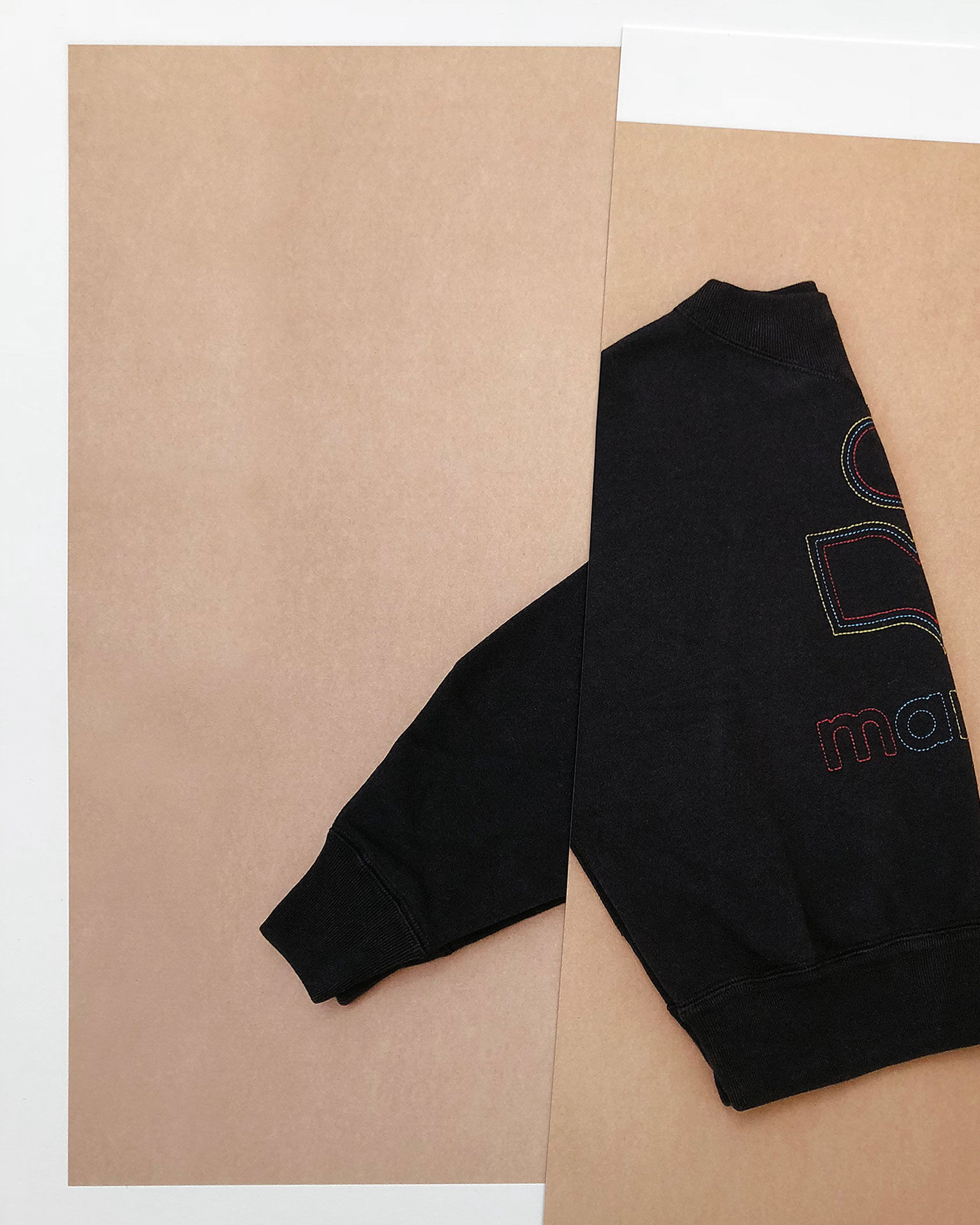 ODILON embroidered sweatshirt