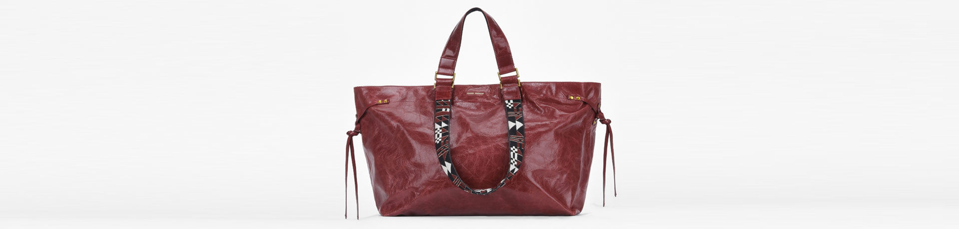 BAGYA medium leather shopper bag