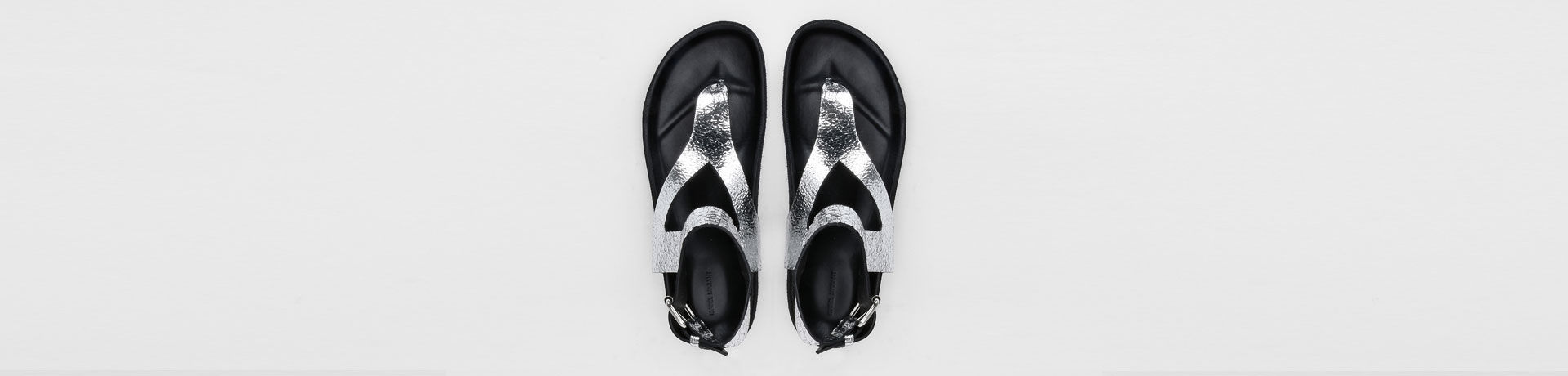 ELWINA sandals with eyelets
