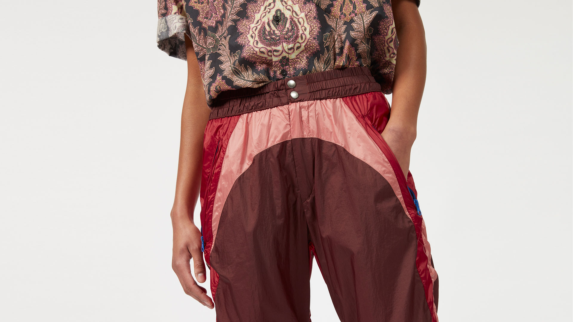 RARUSO nylon pants