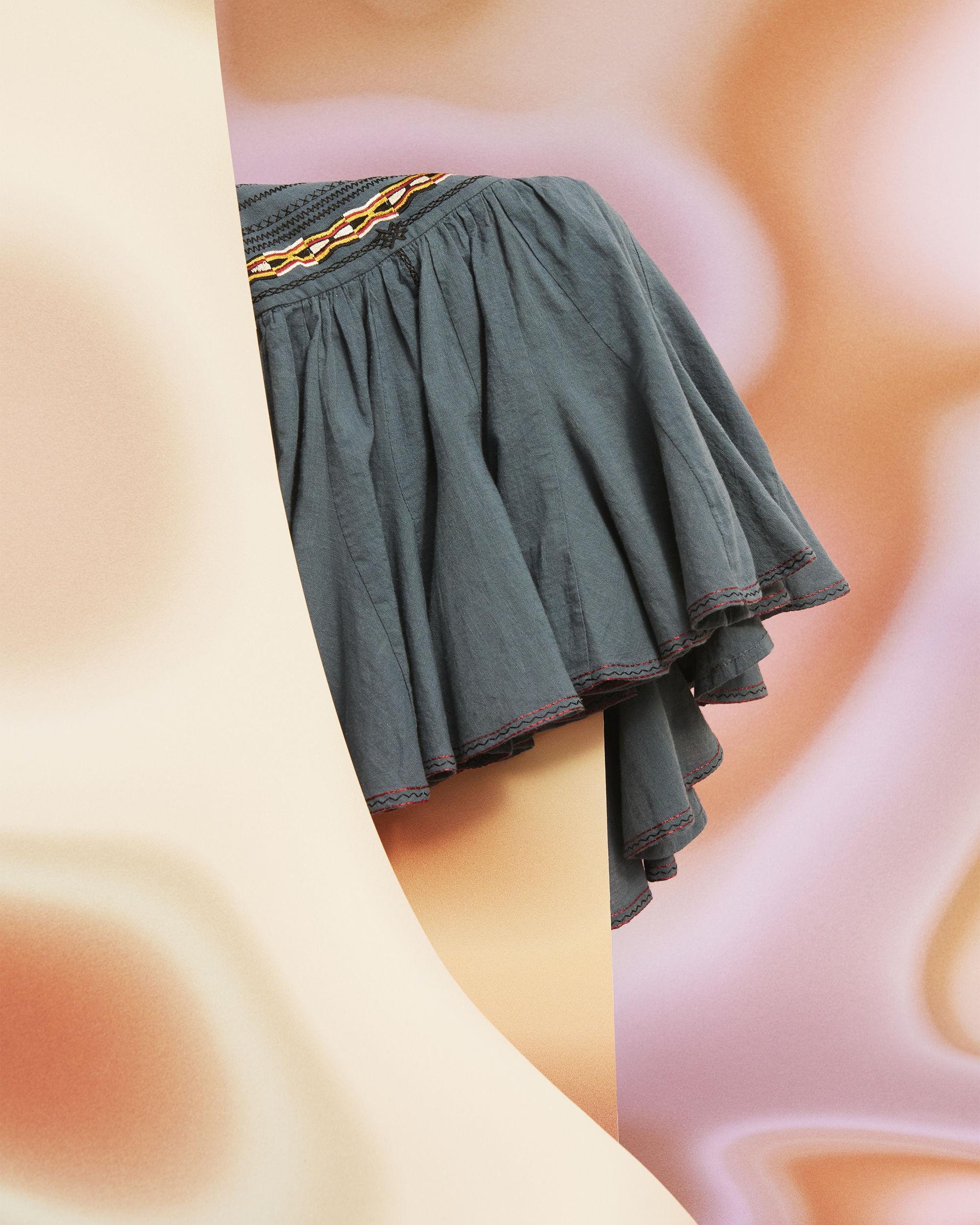 BREEDA embroidered skirt