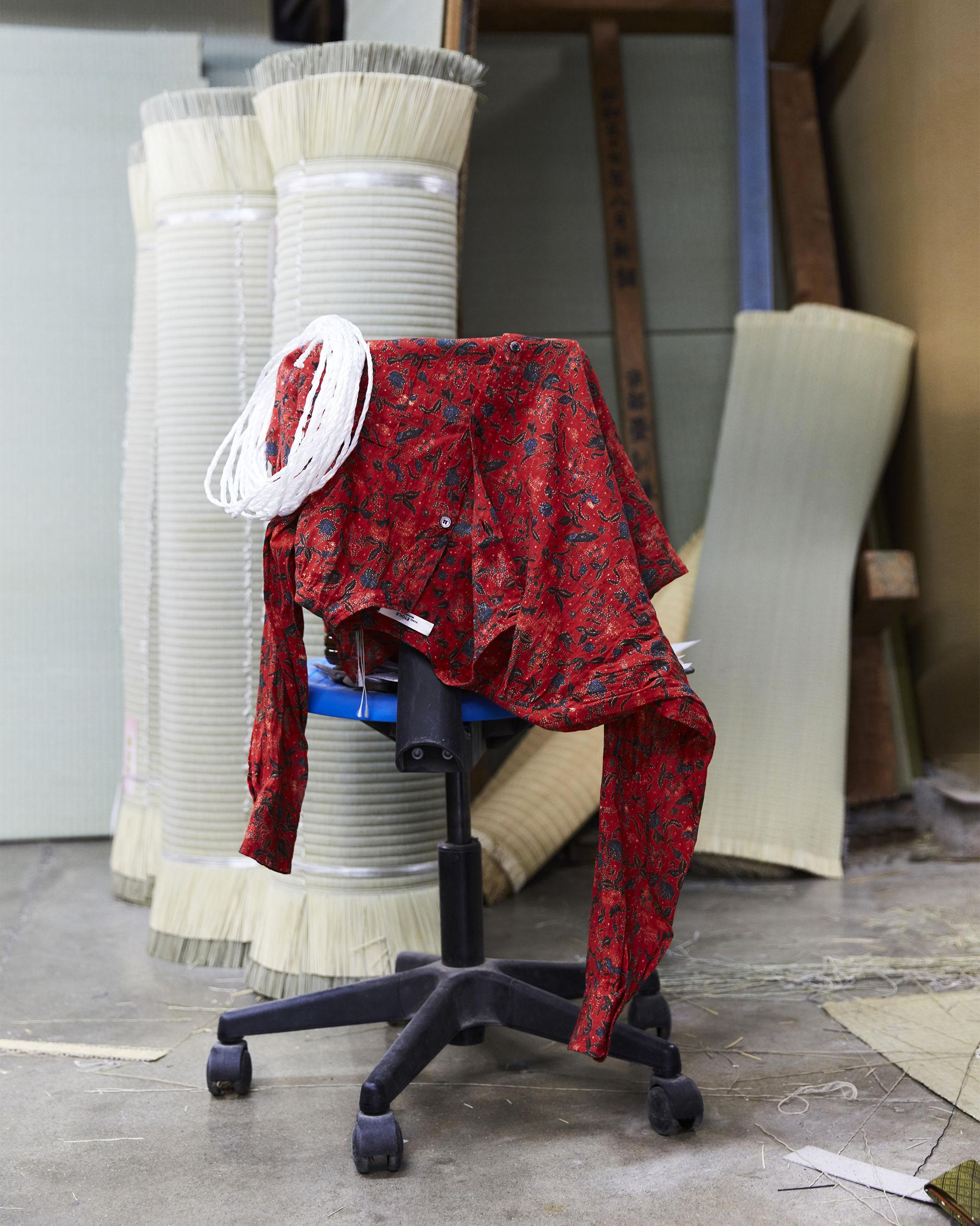 ELMIRA printed cotton voile shirt