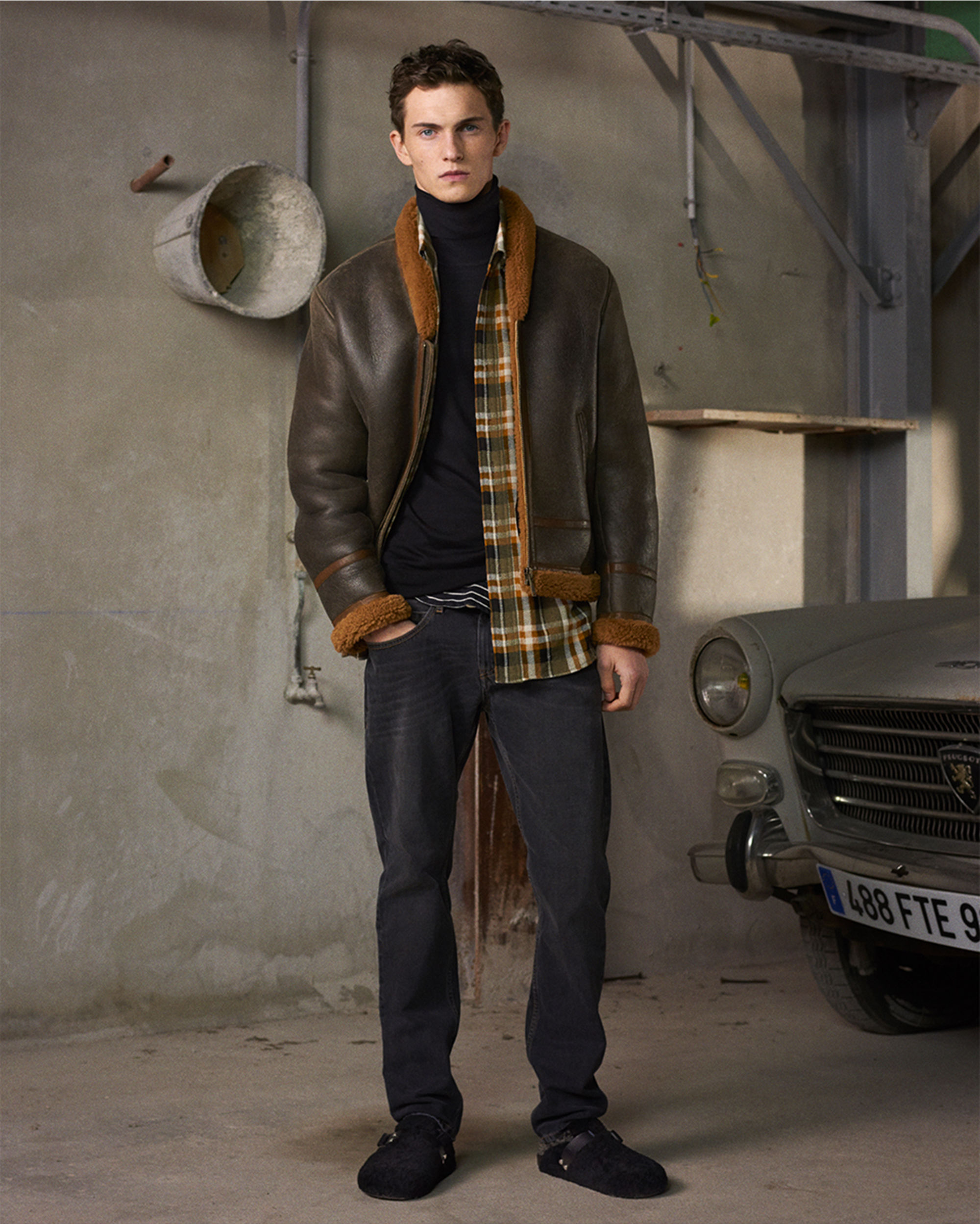 ANDERS shearling jacket