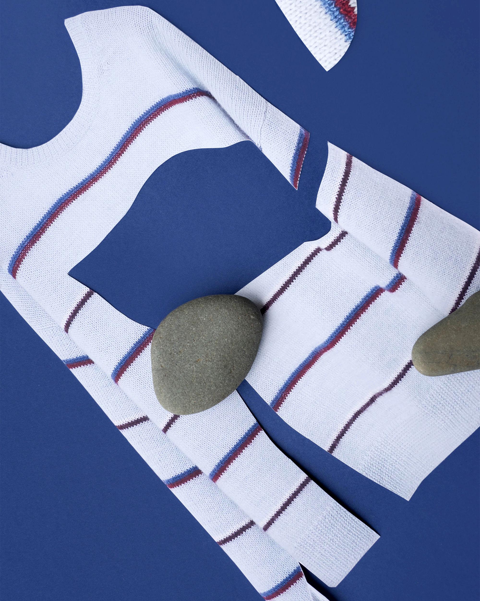 OBLI striped sweater