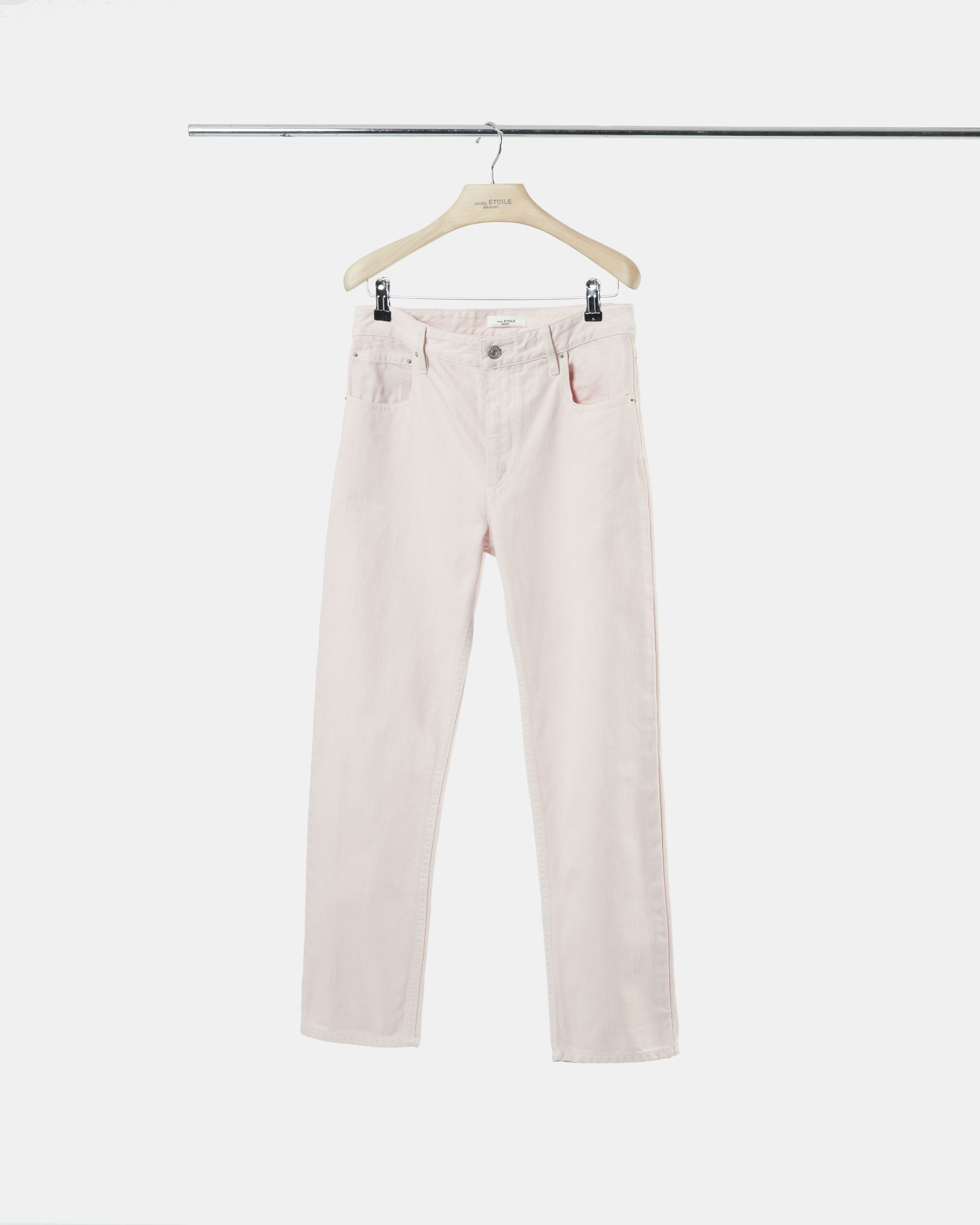 FLIFF coloured denim trousers