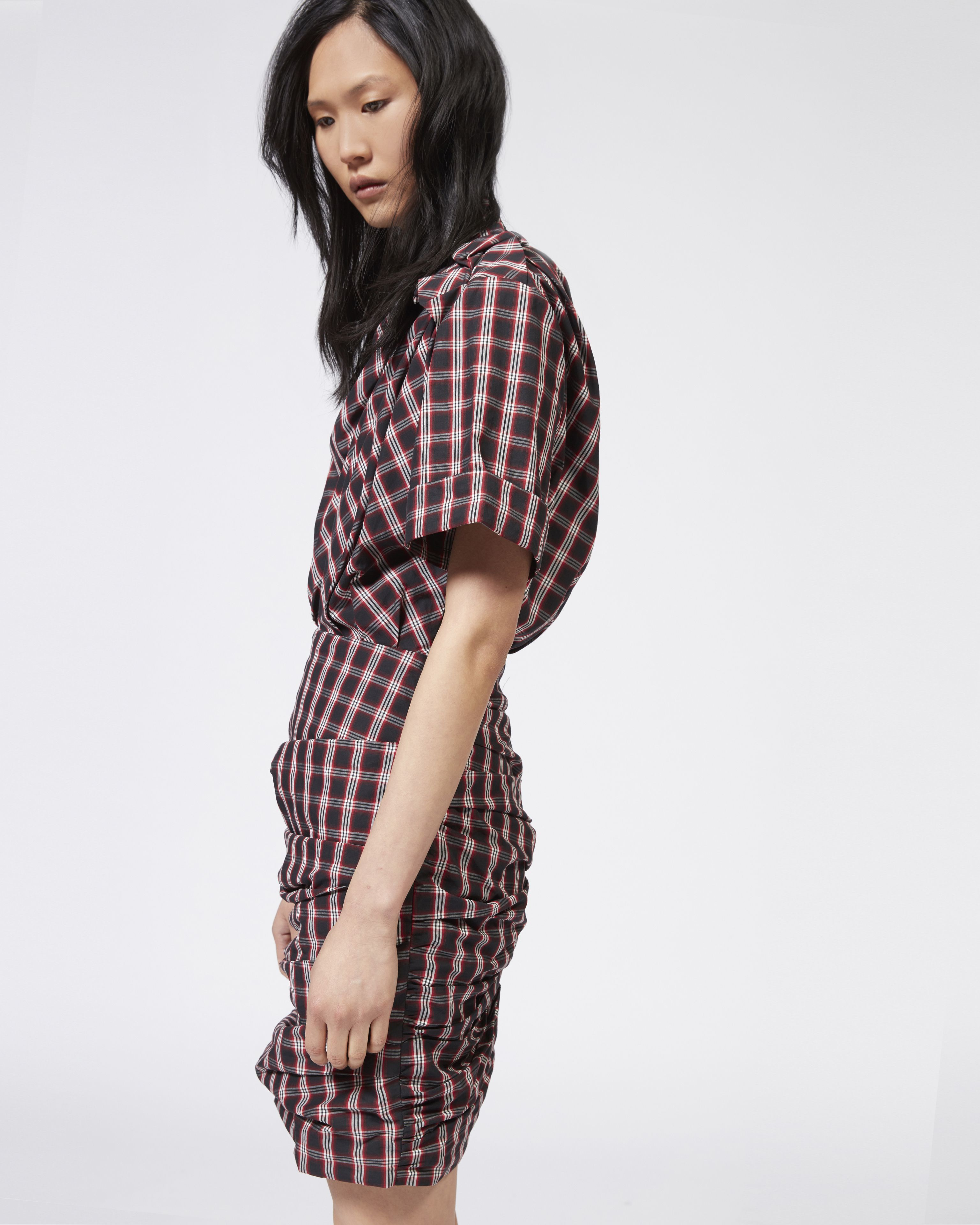 ORIA plaid dress