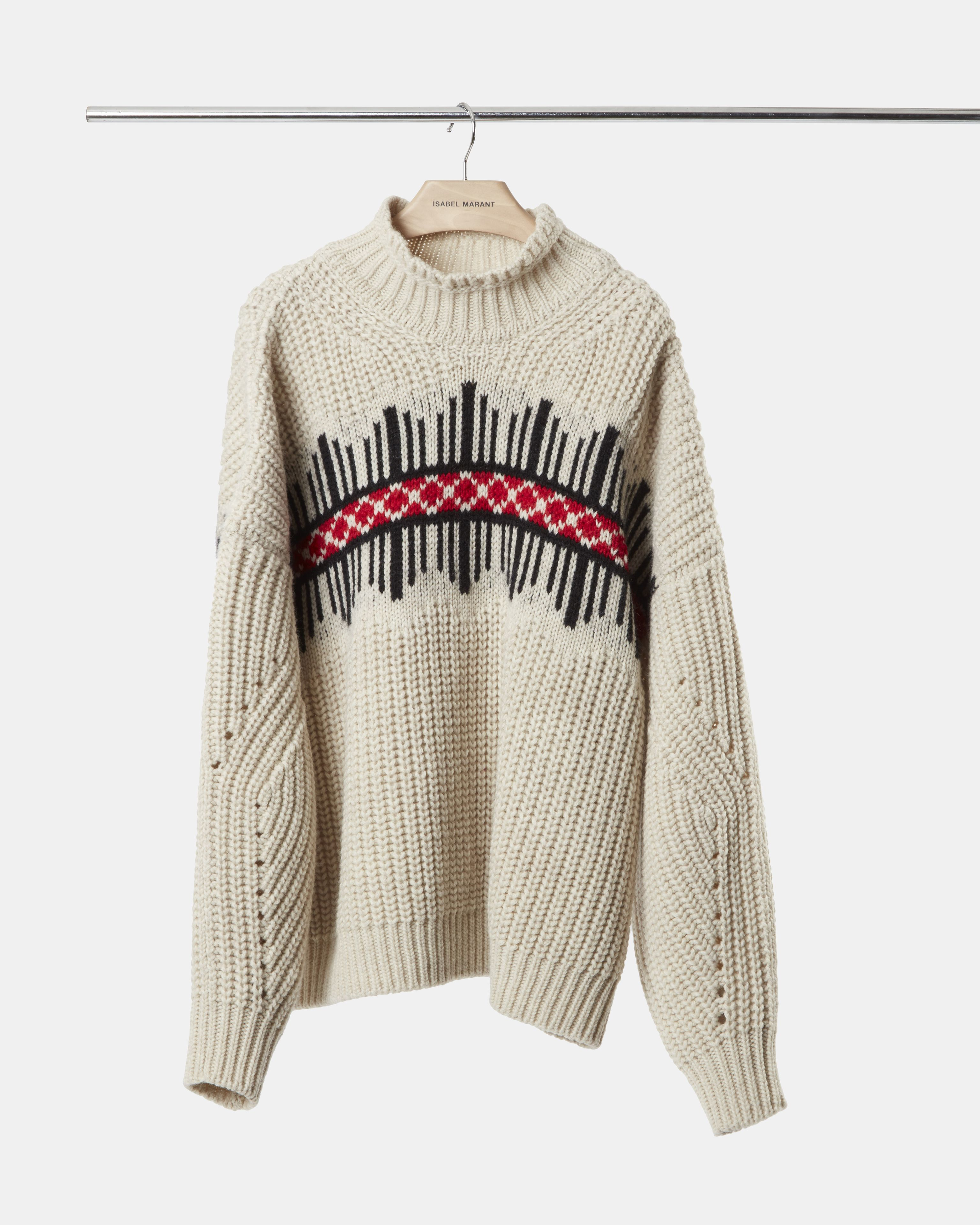 CLOTIL graphic jumper