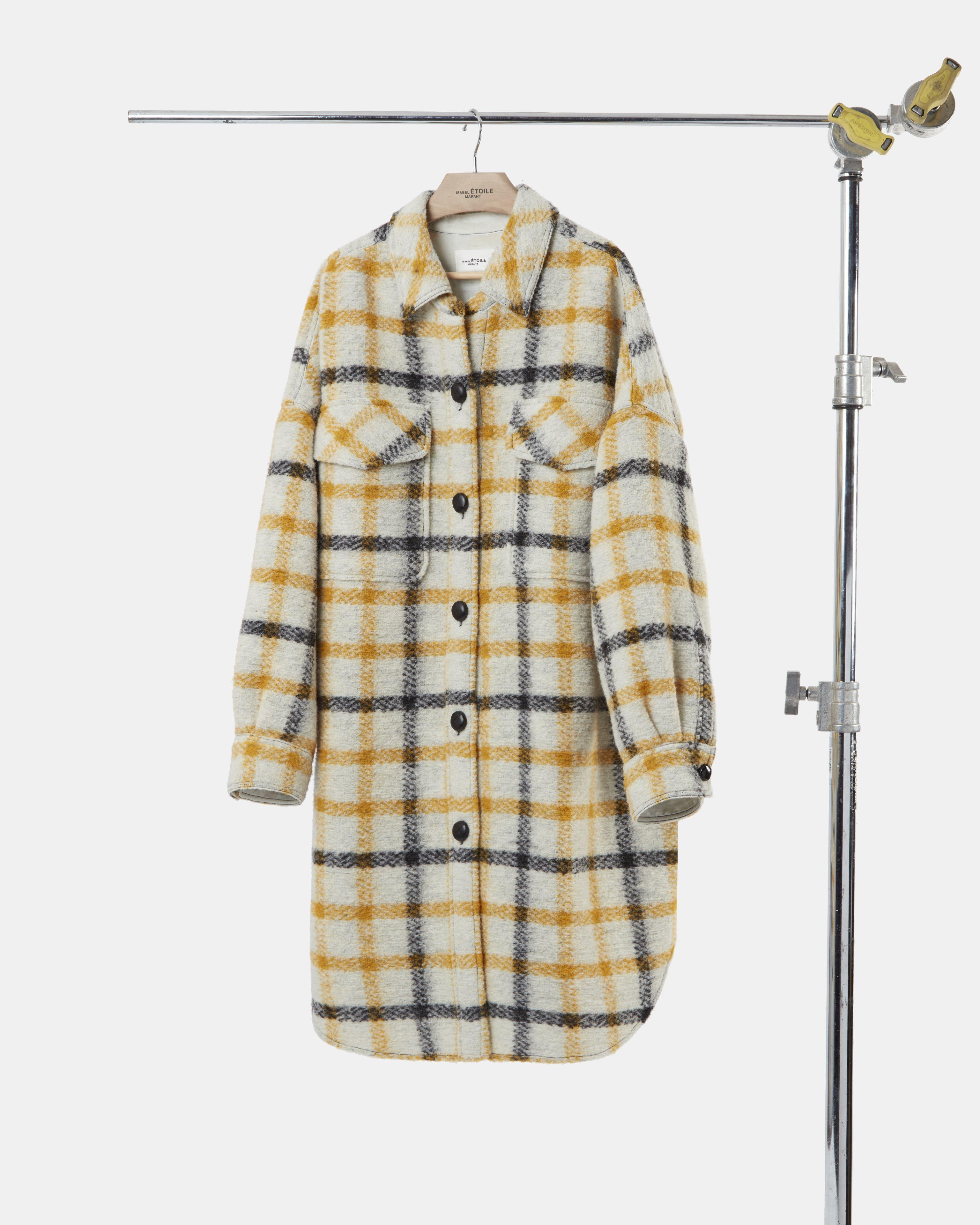 GARIO checked coat