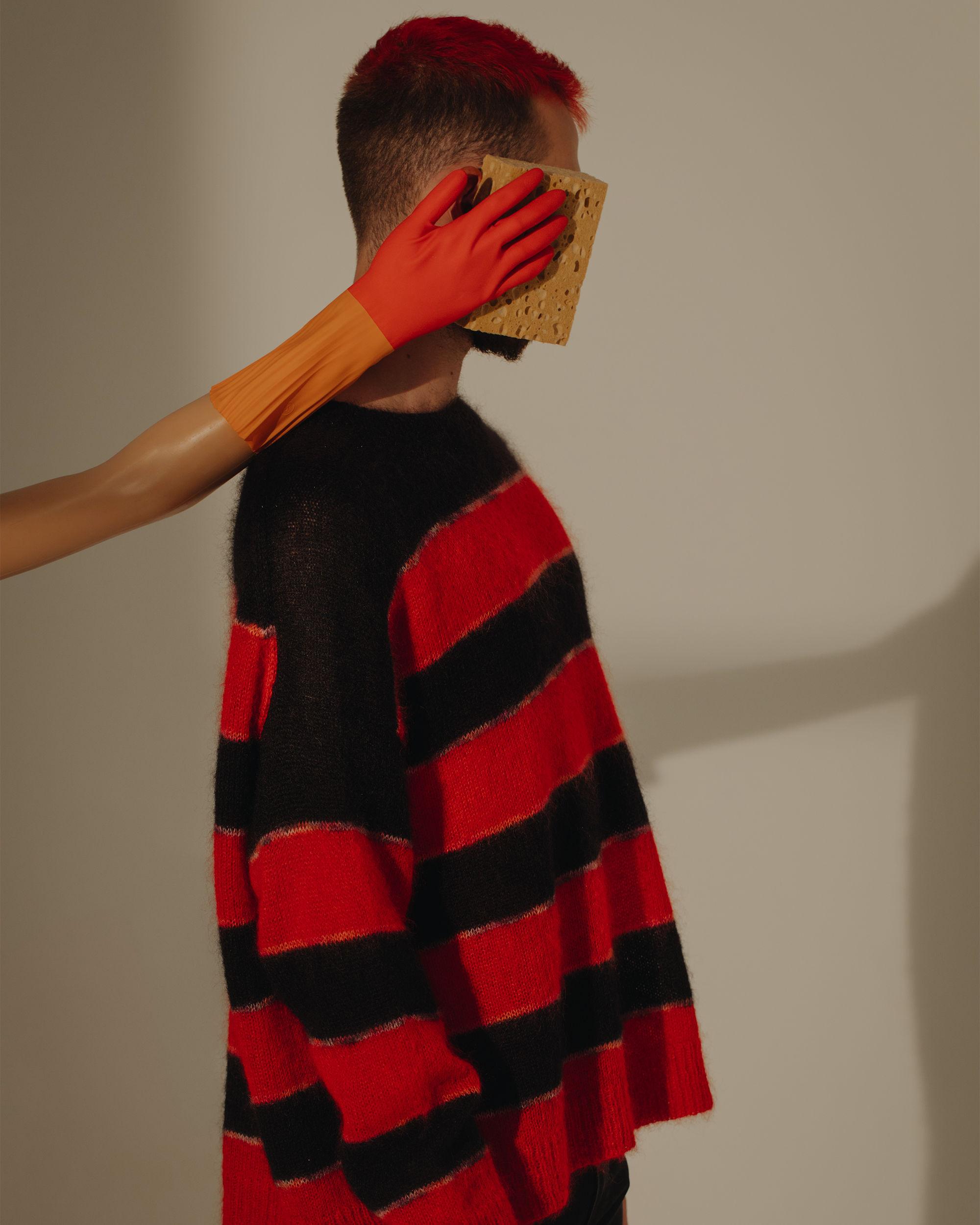 REECEH striped jumper