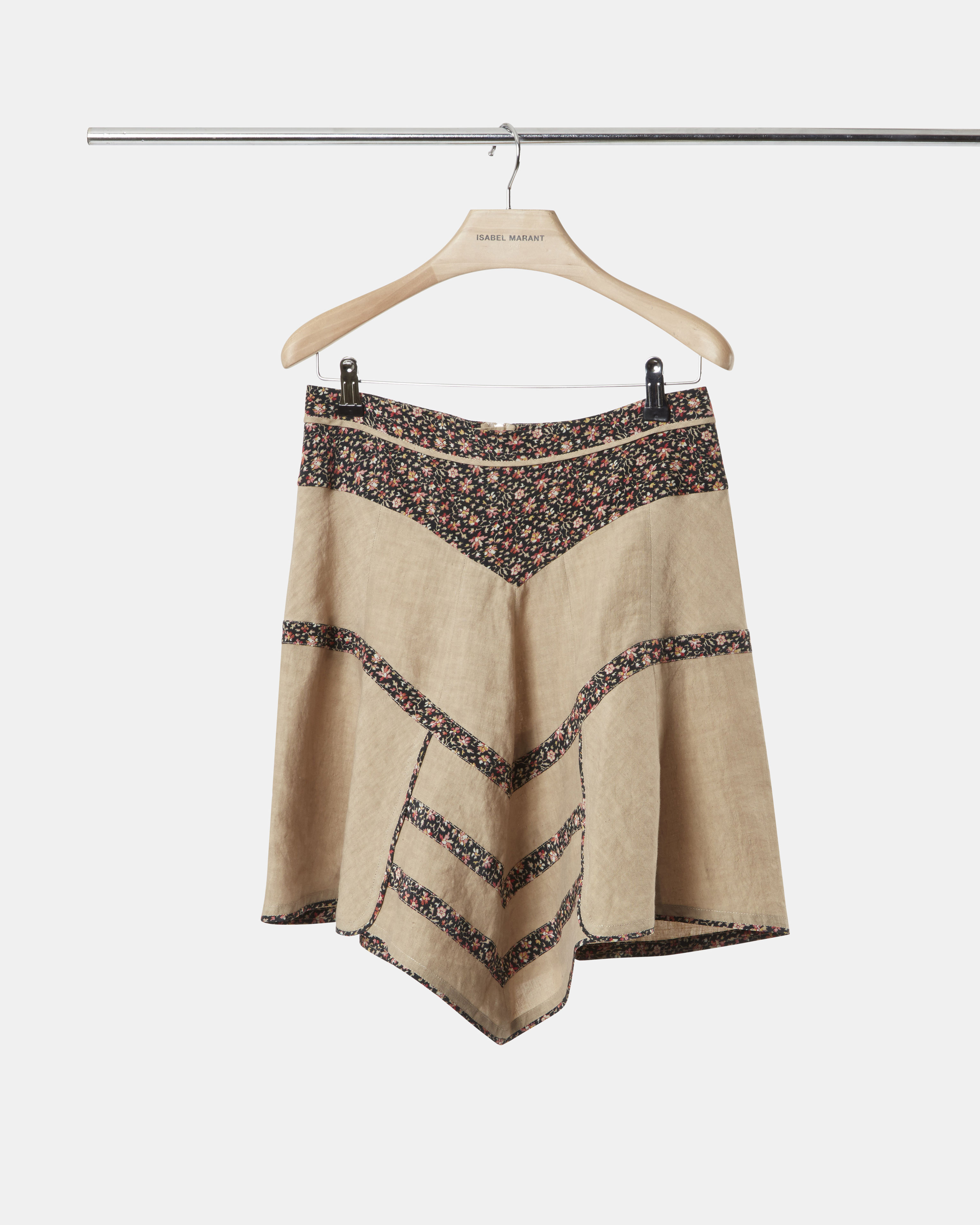 MARTA linen skirt