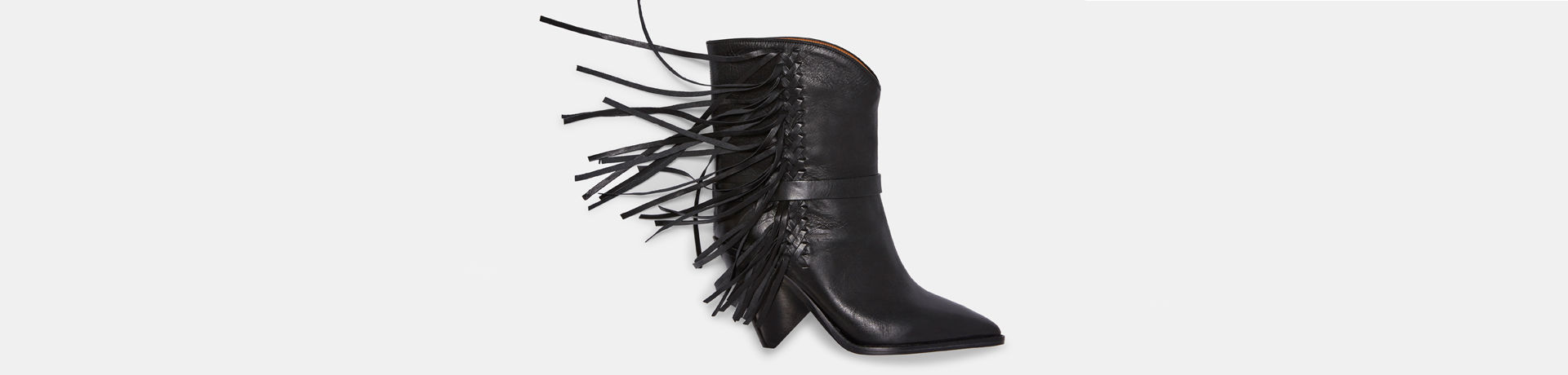 LOFFEN fringed ankle boots