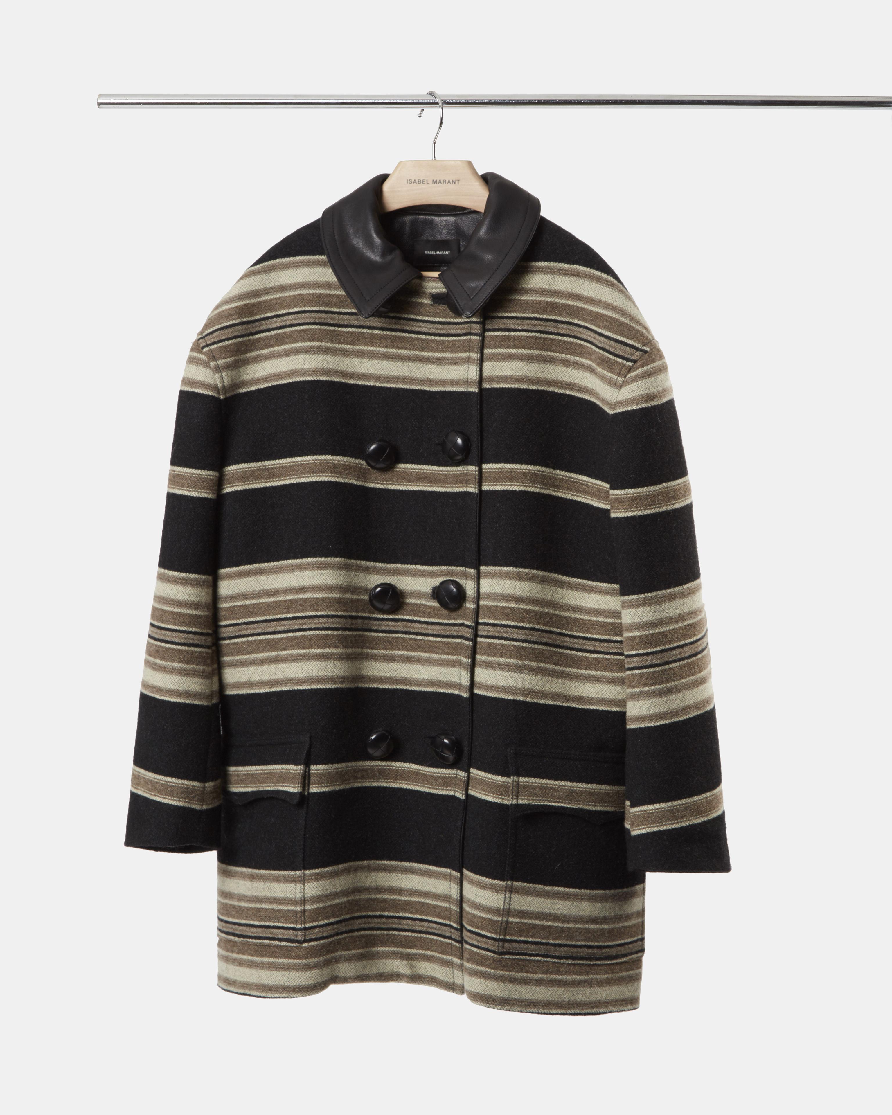 HILDA striped coat
