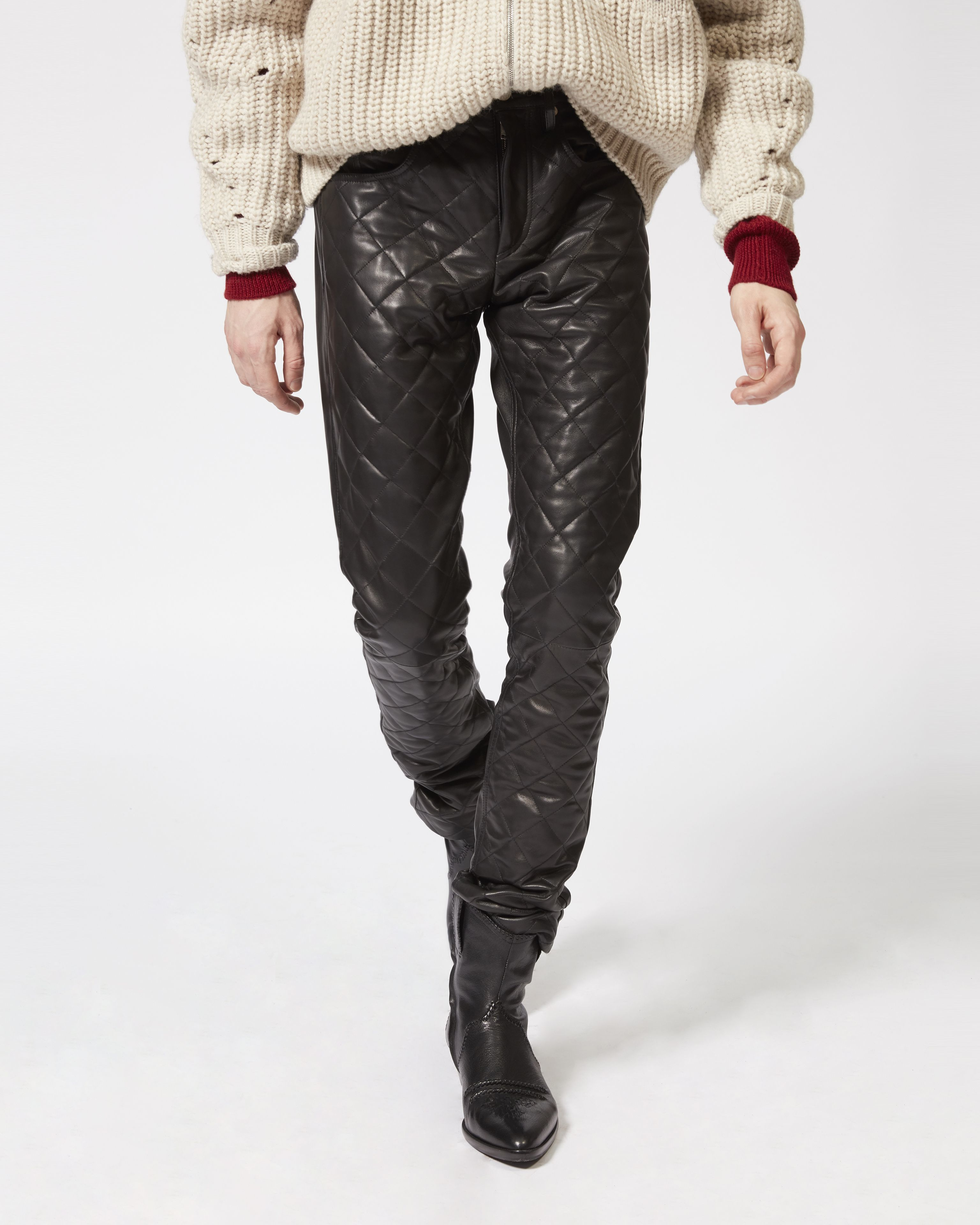 ELIAS leather trousers