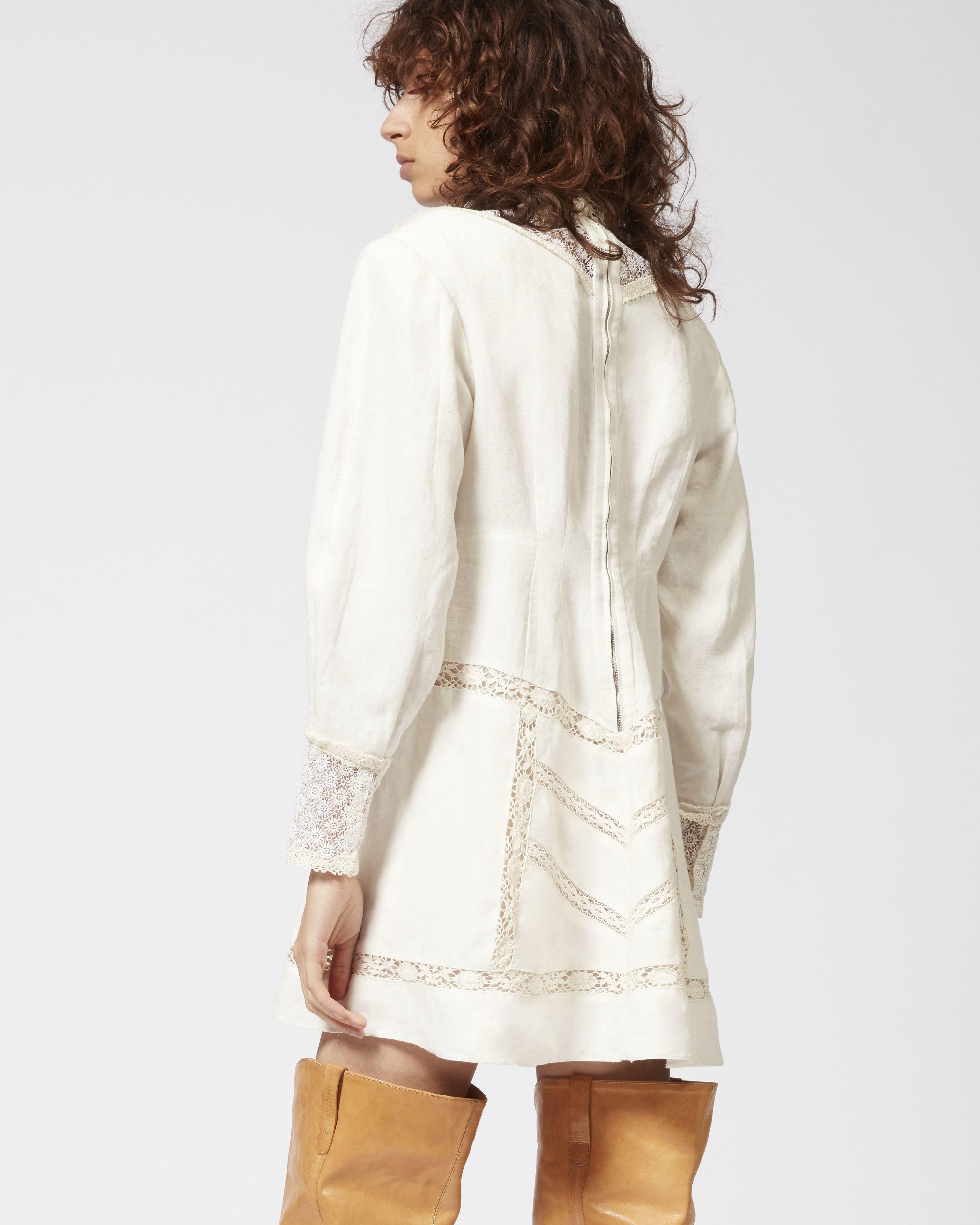 LOANE linen dress