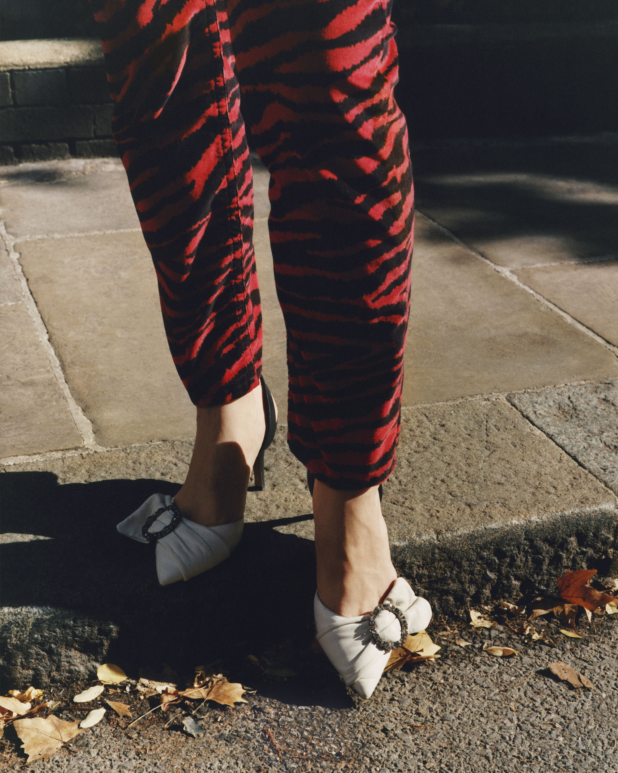 APOLO zebra trousers