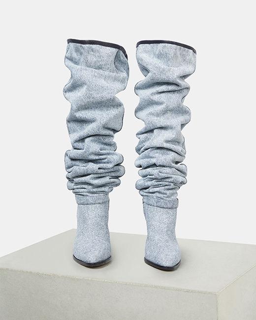 LEARON thigh high boots