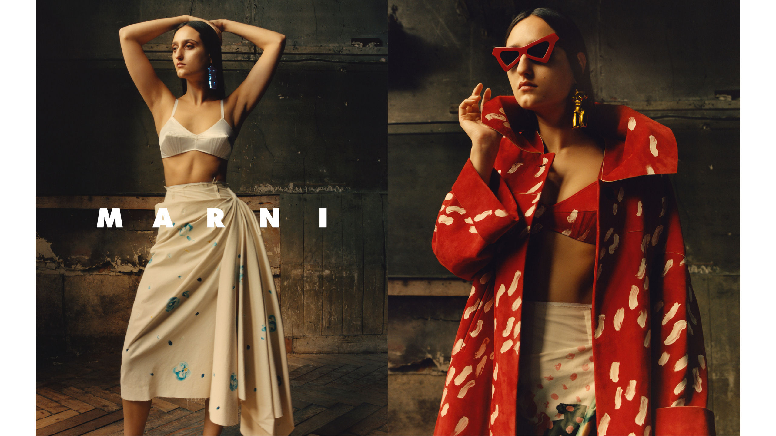 Marni advertising campaign Spring Summer 2019 women collection