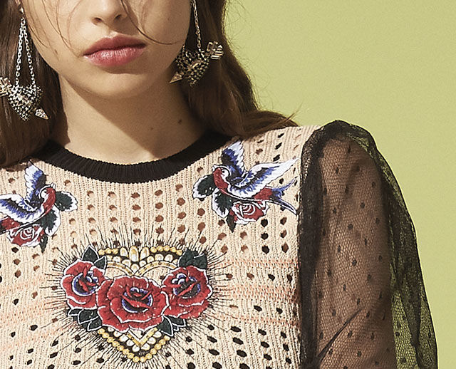 6b78bcf19b9 REDValentino Sweater - Knitwear
