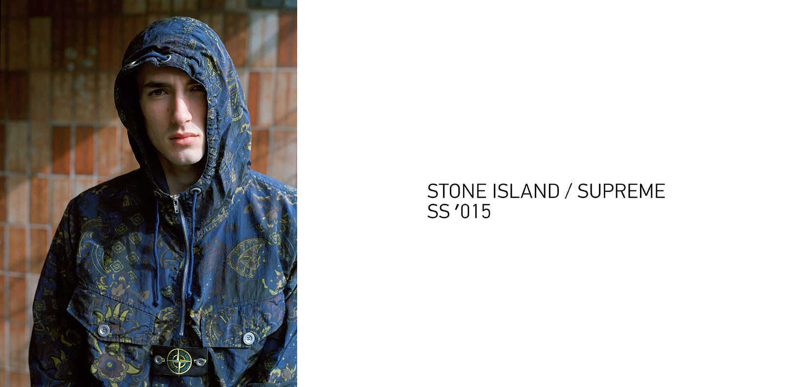 Supreme x Stone Island Menswear: SS15 Collection