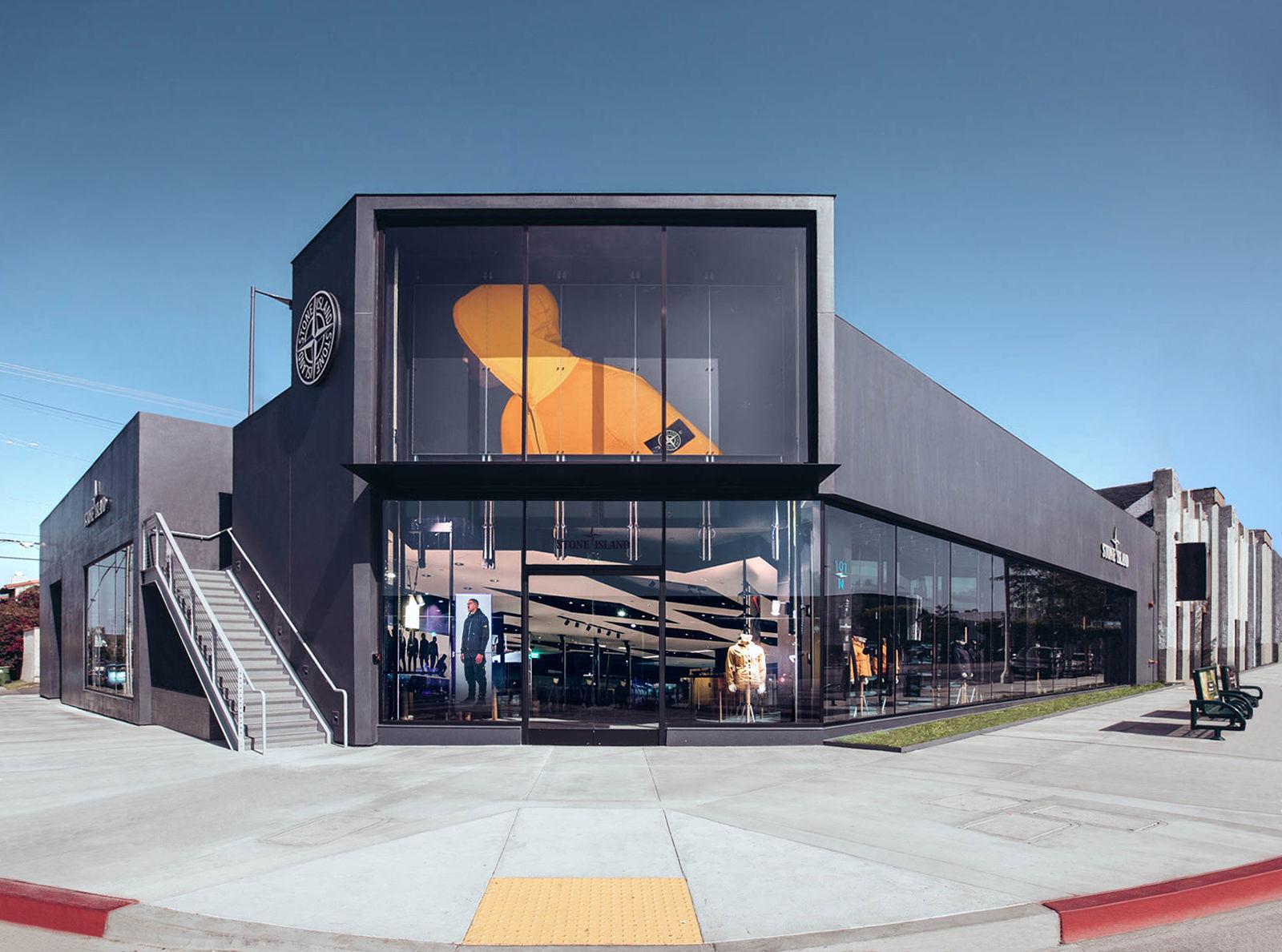 The New Stone Island Flagship Store Stone Island Corporate