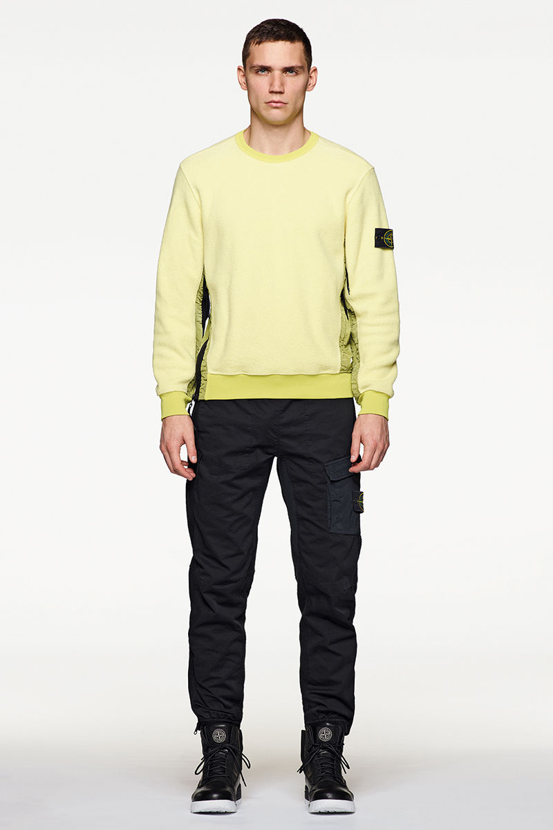 looks stone island ss 018 official store