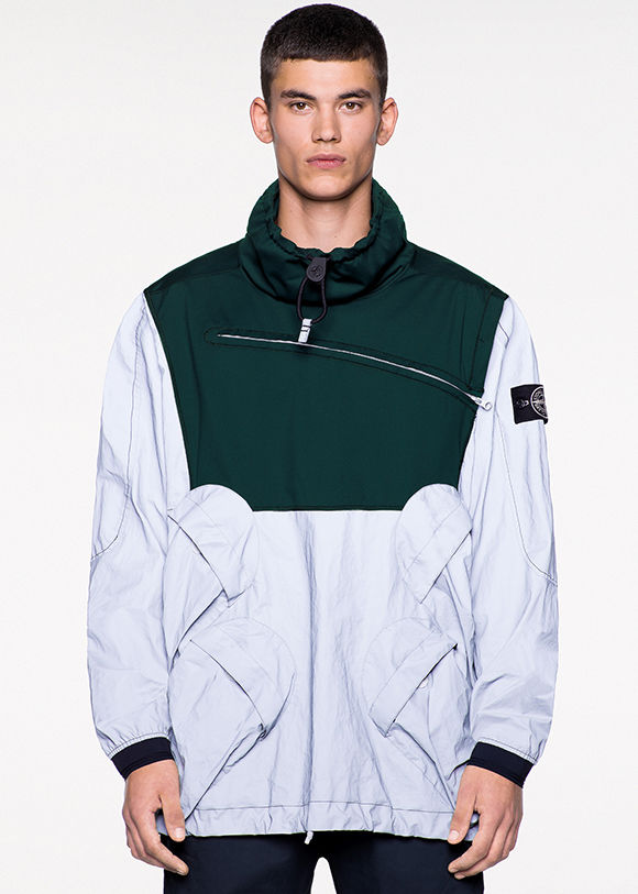 af2a69b8b57567 GARMENT DYED PLATED REFLECTIVE. Garments made in two exclusive Stone Island  ...