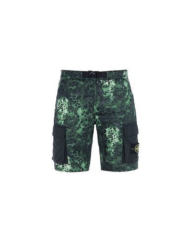 L15E2 ALLIGATOR CAMO LIGHT COTTON-NYLON TELA