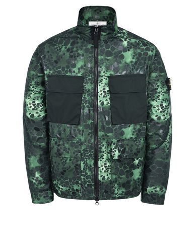 454E2 ALLIGATOR CAMO LIGHT COTTON-NYLON TELA