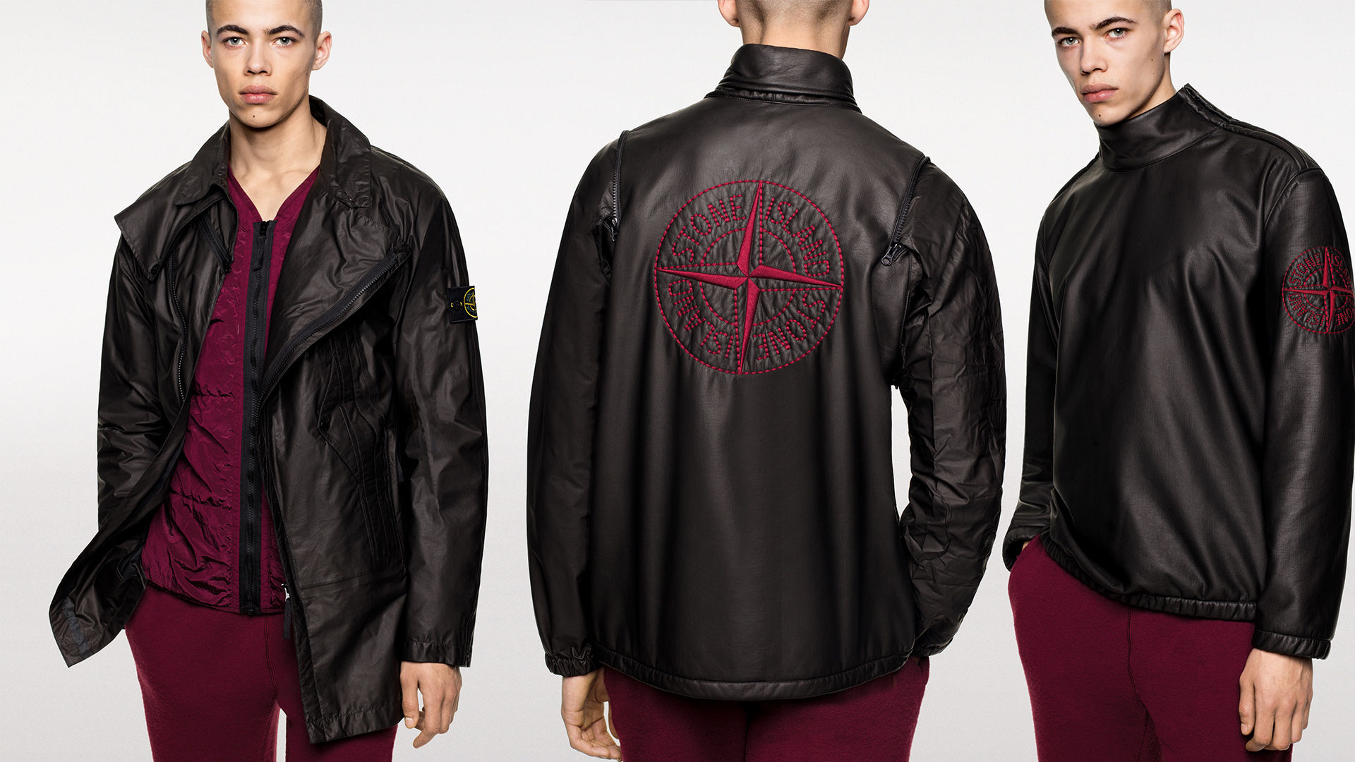 Stone Island Official Site Research And Technology Applied To Material Jaket Parka Df K94 Hp Goretex