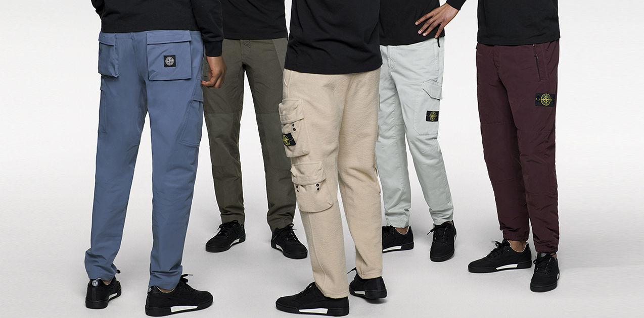 bonne vente de chaussures meilleure sélection de grossiste Stone Island Pants FW_'019'020   Official Store