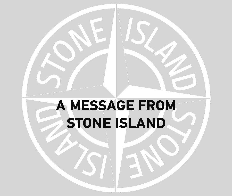 Stone Island logo.